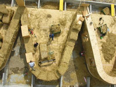 la paille sans la poutre construire une maison en paille sans ossature bois - Maison Paille Ossature Bois